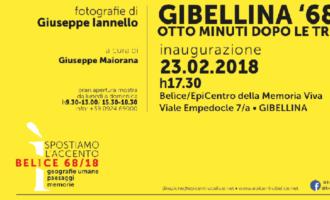 """Venerdì 23 febbraio """"GIBELLINA '68 – Otto minuti dopo le tre"""""""