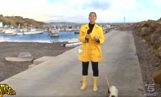 [VIDEO] Stefania Petyx a Selinunte, il servizio di Striscia la Notizia