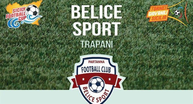 I pulcini della Belice sport di Nino Daì presenti alla Sicily football club