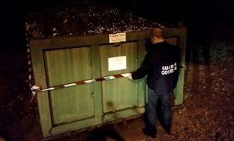 Partanna, Sequestro all'interno del depuratore per Gestione illecita di rifiuti