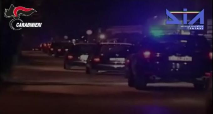 """[FOTO-VIDEO] Operazione """"Pionica"""" Carabinieri, Ros e Dia contro Cosa Nostra Trapanese: 12 arresti"""