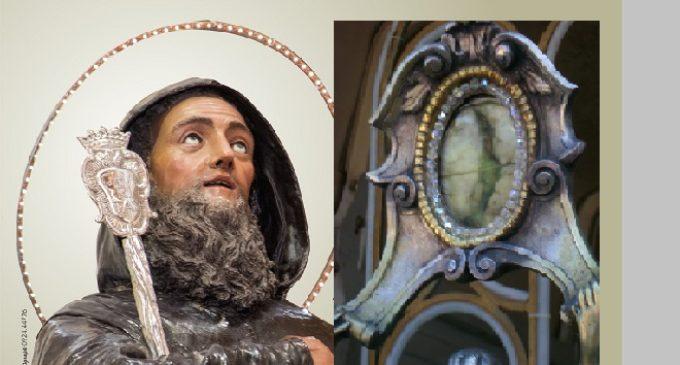 La Sacra reliquia del dito di San Francesco di Paola arriva a Partanna. Momento storico
