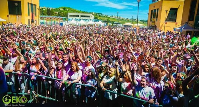 Holi color music party, la battaglia dei colori torna a Santa Ninfa