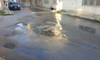 Una lettrice scrive: spreco dell'acqua in strada: cattivo esempio per i giovani?!