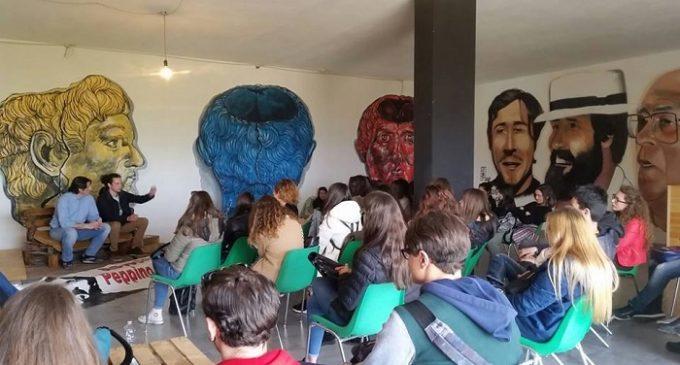"""Salemi, i """"Peppino Impastato"""" si raccontano. All'incontro studenti di Marsala e la cooperativa """"Rita Atria"""""""