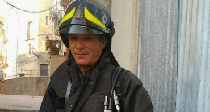 Salemi, un «eroe» tra i volontari dei Vigili del fuoco. Encomio solenne a Salvatore Saladino e al distaccamento
