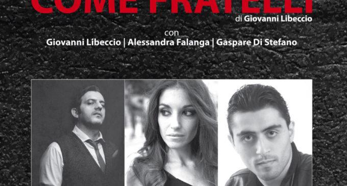 """""""Come Fratelli"""" di Giovanni Libeccio in memoria di Giovanni Falcone al Teatro Rivoli di Mazara del Vallo"""