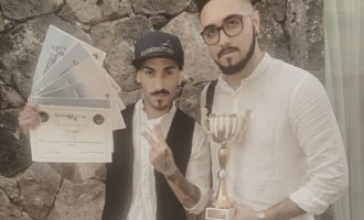 """Partanna, terzo posto per Luca Savona al Trofeo """"Trinacria Barber"""". Tanti i complimenti per """"Barberbestia"""""""