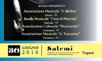Salemi, speciale raduno di bande musicali. Oggi l'esibizione