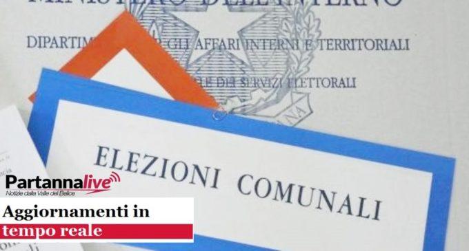 Aggiornamento Risultati Amministrative 2018 Partanna MinutoXMinuto