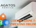 Certificazione e formazione obbligatoria per l'istallazione di impianti di refrigeratori, condizionatori e pompe di calore
