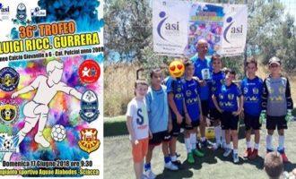 2° Posto per la Nuova Partanna Calcio al 36° Trofeo Gurrera di Sciacca