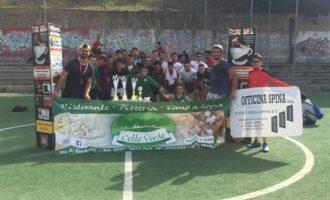 Santa Ninfa: Si è concluso torneo di calcio a cinque no-stop
