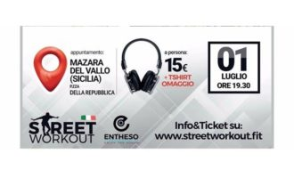 Mazara, tutto pronto per lo street workout: fitness all'aria aperta