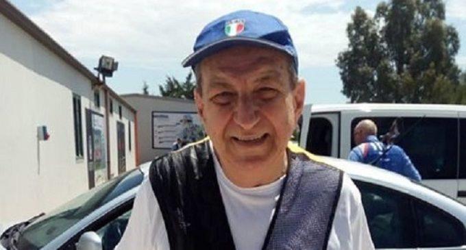 Giacomo Piazza, la passione per il Tiro al Volo che dura da 71 anni