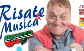"""SALEMI, Fabrizio Bracconeri in scena con lo spettacolo """"Risate & Musica"""""""