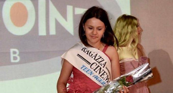 Elena Petralia alle selezioni regionali di Miss Cinema. Un astro nascente a Partanna
