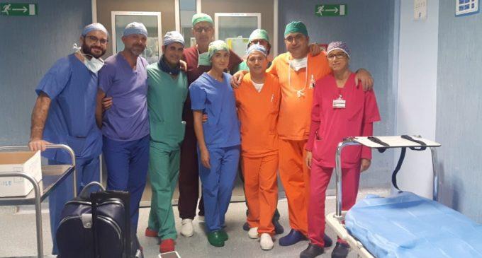 All'ospedale S. Antonio Abate prelevati sette organi per trapianto