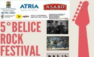 """Partanna, stasera il 5° """"Belice Rock Festival"""""""