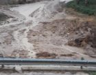 (VIDEO) Chiusura provvisoria della Palermo – Sciacca (altezza Poggioreale). Presenza di detriti e fango