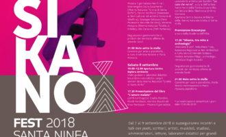 Rampinzeri : Sikano Fest, oggi una serata tra letteratura e musica