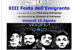 Partanna, stasera tutti in piazza per la XIII festa dell'Emigrante