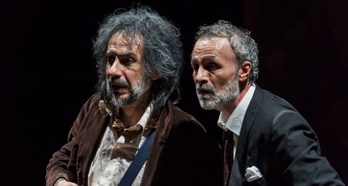 Fabrizio Ferracane alla tonnara dell'Orsa di Cinism, spettacolo di Giovanni Libeccio