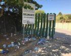 Parco Archeologico di Selinunte invaso dalla spazzatura dopo il concerto di Martin Garrix