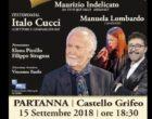 Partanna: Premio nazionale di poesia. Patron della serata il giornalista Italo Cucchi