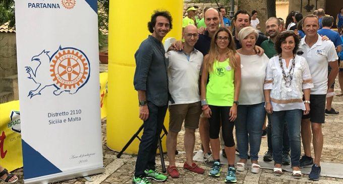 Partanna: 'Nati stanchi' runners e Rotary club, insieme tra sport e beneficenza