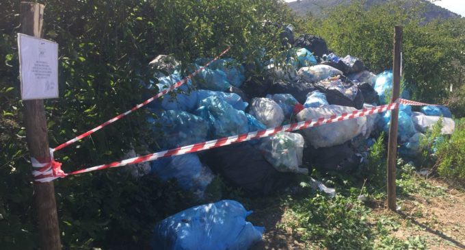 Segesta: discarica abusiva all'interno del Parco. Interviene la Forestale
