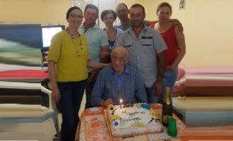 Partanna, festeggia 105 anni il nonno più longevo della città