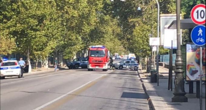 Borsa dimenticata, è allarme bomba a Palermo. Traffico bloccato per più di un'ora