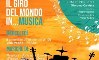 """Trapani, domani il concerto """"Il giro del mondo in…musica"""" diretto da Nicolò Scavone"""