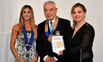 Rotary Club Partanna, Visita del Governatore del Distretto 2110