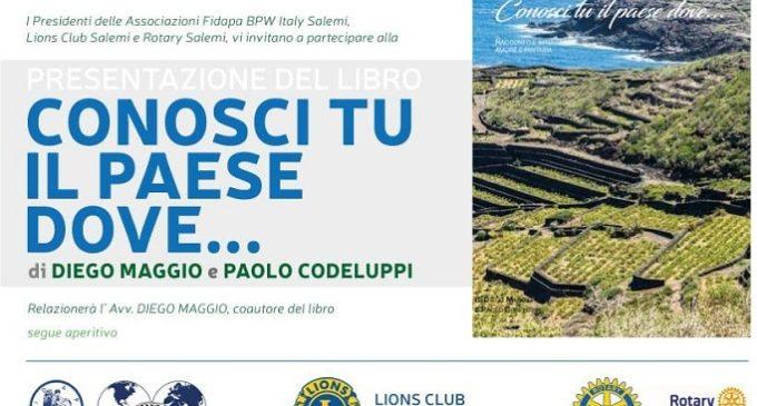 """""""Conosci tu il paese dove…"""", a Salemi la presentazione del nuovo libro di Diego Maggio"""