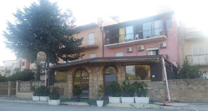 Incendio in un ristorante a Gibellina. Tempestivo l'intervento dei Vigili del fuoco