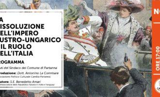 Cambia Partanna, il 4 novembre al Castello Grifeo conferenza per il centesimo anniversario della Festa della Vittoria