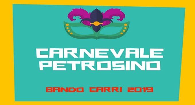 Petrosino, Carnevale 2019: pubblicato il bando di gara