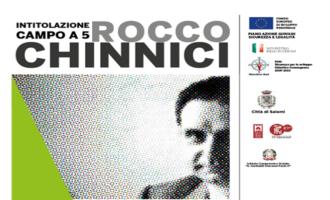 Salemi, due giornate dedicate Rocco Chinnici. Intitolato al magistrato il campo di calcio a 5 di Ulmi