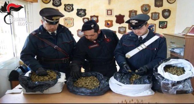 Sorpresi con 8 chili di Marijuana, in arresto uomo di Campobello e due fratelli di Castelvetrano