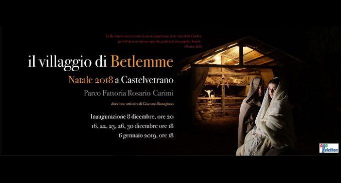 """Apre il """"Villaggio di Betlemme"""". A Castelvetrano il presepe vivente si racconta in ebraico e siciliano antico"""