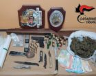 In possesso di droga e armi. Arrestati un campobellese e una castelvetranese