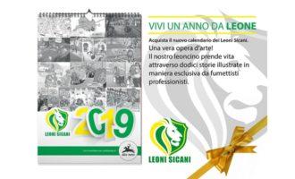Il calendario solidale realizzato da 12 fumettisti per i Leoni Sicani. Ecco come acquistarlo