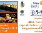 """""""Salemi, capitale delle origini gastronomiche italiane"""". Attilio Vinci racconta la tradizione culinaria nell'epopea garibaldina"""