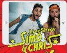 Santa Ninfa, venerdì il live-show del duo comico Simo & Chris