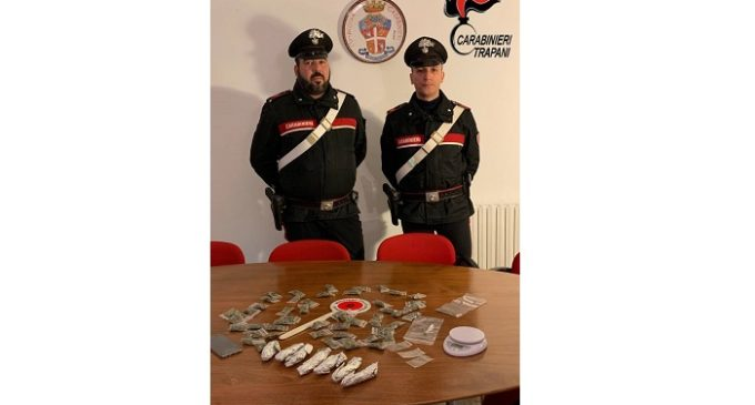 Alcamo e Castellammare del Golfo: controlli antidroga, due arresti e due denunce