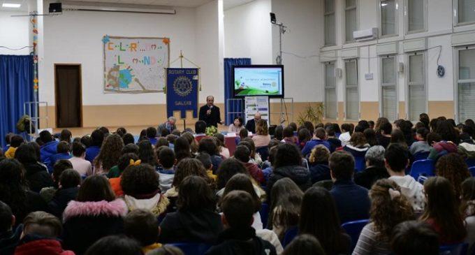 Rotary Club Salemi. Nelle scuole per sensibilizzare le famiglie ad una più attenta gestione del cibo