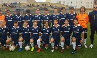 Gli Under 16 dell' Adelkam fermati in casa sull' 1-1 da un determinato Monreale