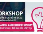 "G55 Partanna, ""Motivation and Inspiration day. Pensando al futuro: dall'idea alla start up"""